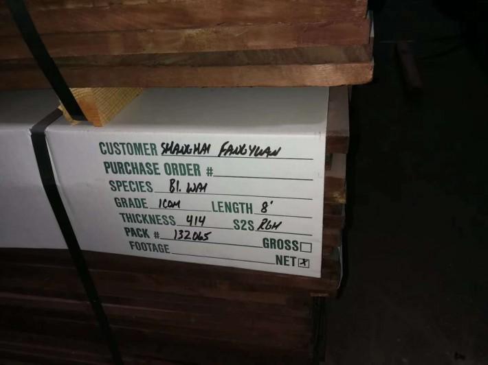 美国黑胡桃木板材,双面无结,现特价活动批发
