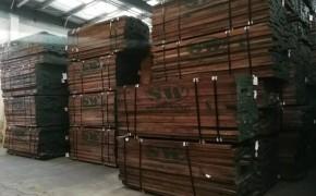 美国进口黑胡桃木板材商品