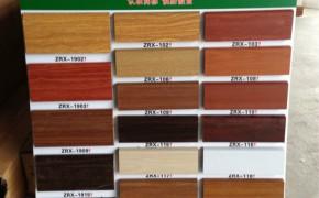工厂佛山批发地板木质踢脚线护墙板 9分高密度复合实木纹地脚线