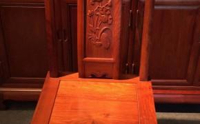 家具市场1件刺猬紫檀卧房系列