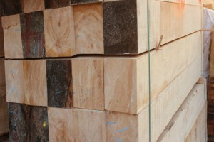铁杉木方 建筑方木 工程大方料加工多规格