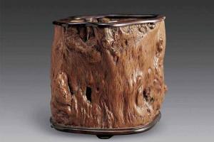 瘿木,一种文玩家族中的珍品,其价值甚至超过主干500%左右