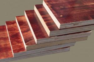 厂家低价直销工地用松木建筑模板覆模板经久耐用的胶合板量大从优