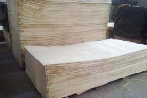 白杨木刨切单板木皮