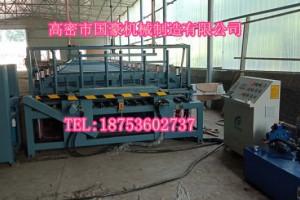 山东拼板机厂家 高密市国豪全自动木工拼板机生产厂家