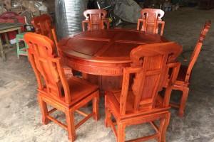 大果紫檀(缅甸花梨)红木家具有收藏价值吗?匠心居红木家具