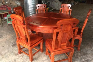 大果紫檀(缅甸花梨)红木家具系列