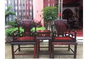 大红酸枝玫瑰椅