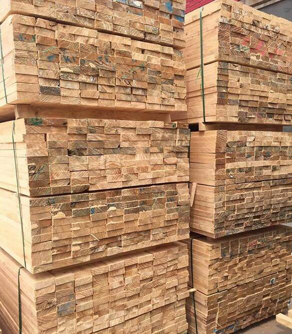 铁杉建筑工程木方价格