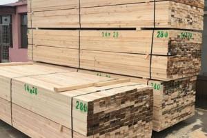 铁杉建筑工程木方批发价格
