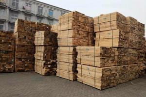 铁杉建筑工程木方价格图片