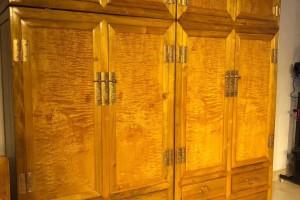 金丝楠木衣柜,顶箱柜,家具收纳柜四川大叶帧楠图片