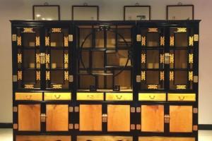 金丝楠木书柜,书架黑檀木大叶帧楠自由组合产品