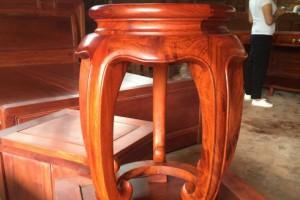 缅甸花梨木古凳