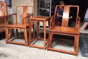 缅甸花梨木太师椅