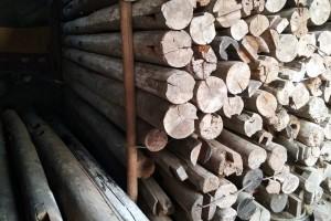 现货四川农村金丝楠木老房料,拆房料,老板料 ,老梁料,老柱料图片