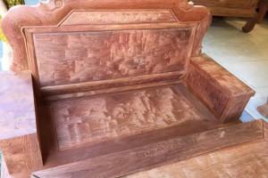 大果紫檀实木沙发组合缅花红木沙发中式古典沙发雕花家具
