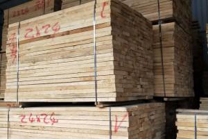 河南白椿木烘干板材图片