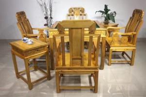 金丝楠木自动麻将桌,餐桌,打牌桌1020*1020*780七件套
