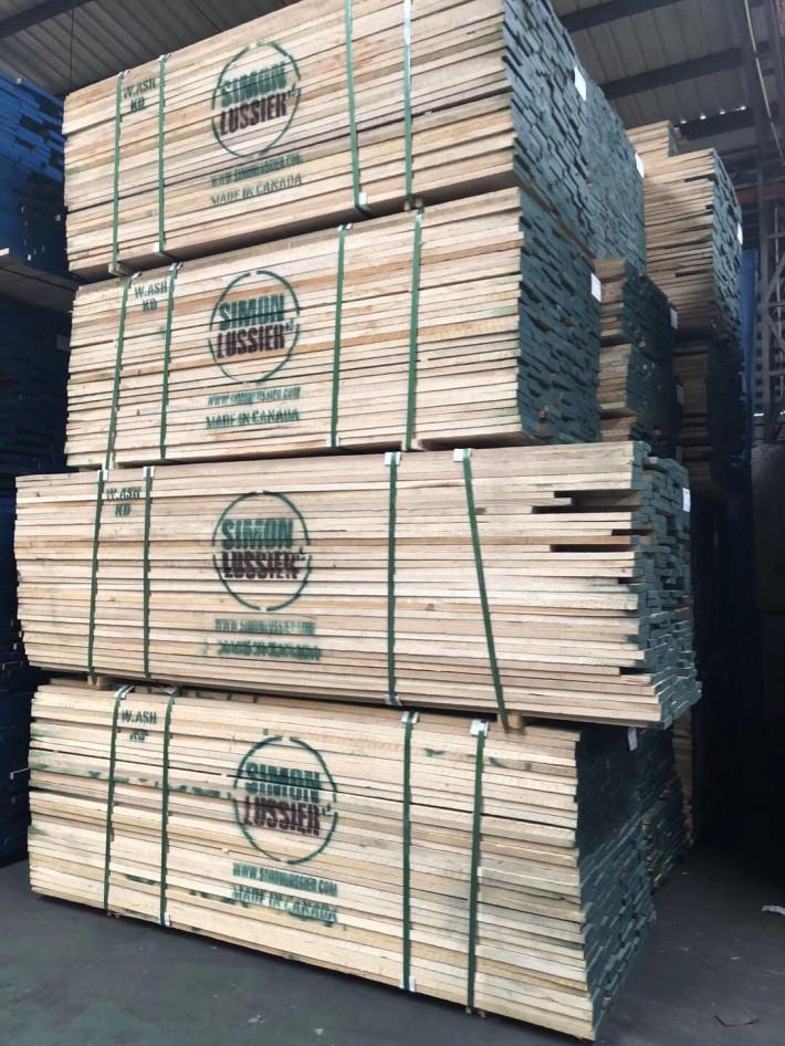 广东进口白蜡木板材锯材