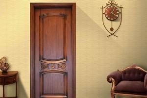 实木门门框嵌板常有裂痕