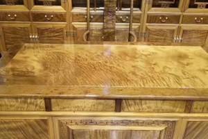 金丝楠木书房办公五件套莆田大办公桌大班台老板台书柜椅