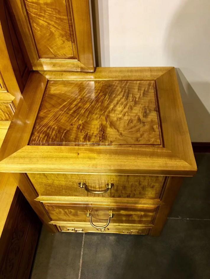 金丝楠木家具明清中式古典高低床