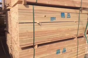 太仓花旗松辐射松建筑木方视频
