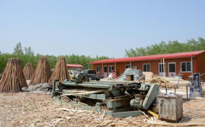华安沙建镇9家木材加工企业被强制拆除