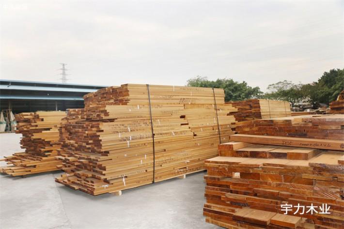 缅甸柚木板材规格料板材