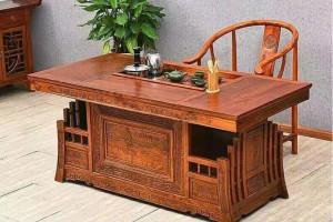 老榆木茶台家具图片