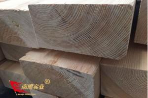 上海南旗樟子松烘干板材 樟子松木方 家具无节材