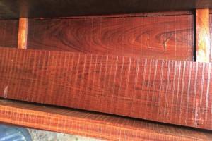 进口巴西花梨烘干板材_巴花家具板材现货  高山巴花 平地价格