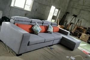 布艺沙发三双人现代简约客厅沙发