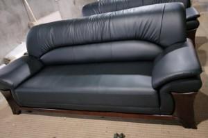 皮沙发三单人现代简约客厅沙发