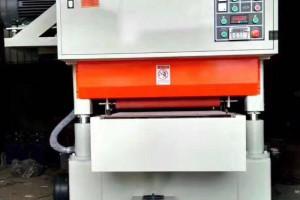 一米超短料双面分体砂光机使用视频