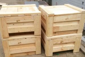 各种木包装箱 双面托盘 单面托盘