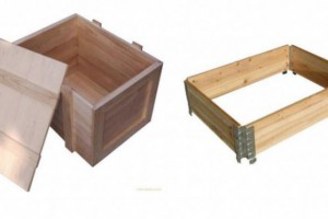木包装箱 双向进叉托盘 四向进叉托盘