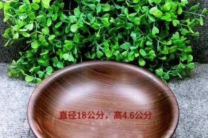 老挝大红酸枝木碗