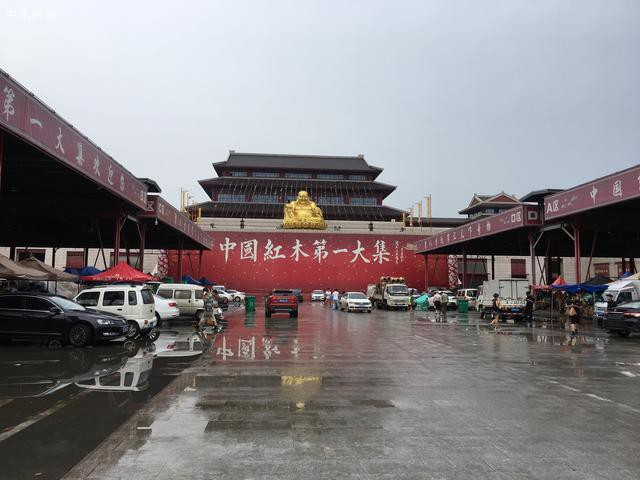 中国红木第一大集正门