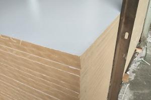 25mm密度板板材高密度纤维板三聚氰胺奥松板雕花相册板家具板
