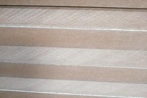 白色面密度板橱柜衣柜家居用隔板背板密度板单面贴白色板4mm