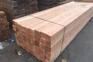 炭化木材,花旗松建筑木方厂家批发价格