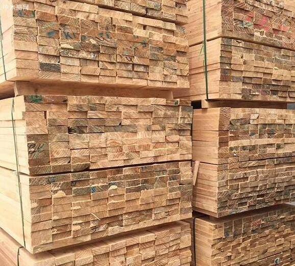 铁杉建筑木方干燥后的木材尺寸很稳定