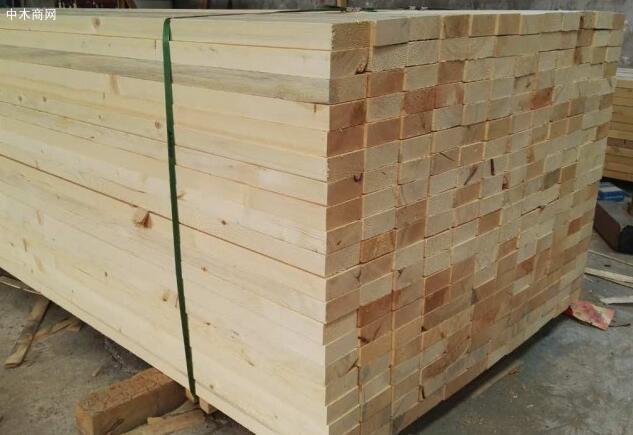 铁杉建筑木方厂家今日最新报价