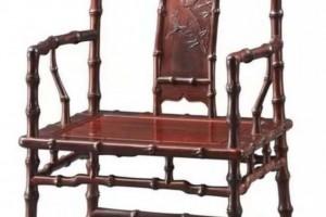 红木竹节椅子