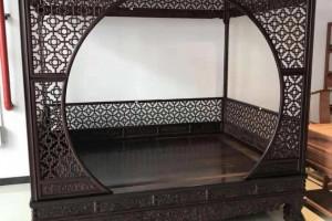香檀紫檀架子床