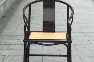 香檀紫檀圈椅