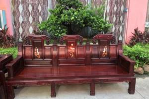 大红酸枝收藏品质、象头沙发10件