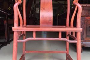 缅甸花梨 圈椅精工